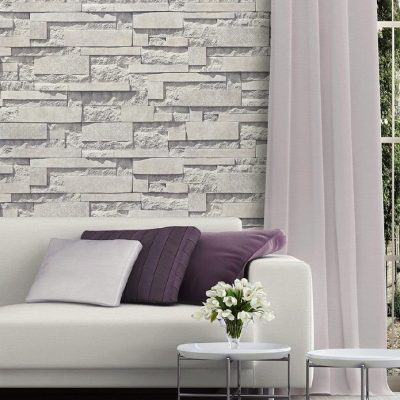 Natural Stone Pattern Wallpaper (1601)