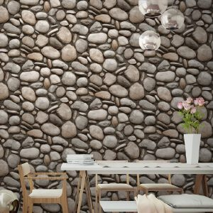 Natural Stone Pattern Wallpaper (1602)