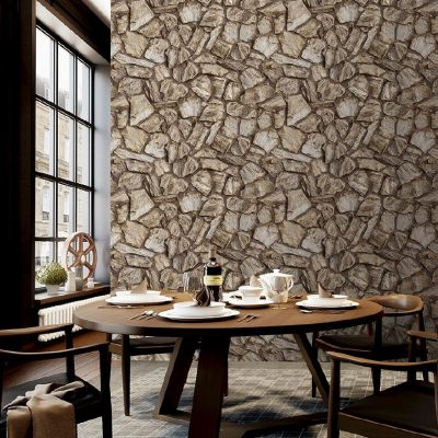 Natural Stone Pattern Wallpaper (1604)