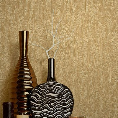 Subtle Embossed Feather Pattern Wallpaper (1607)