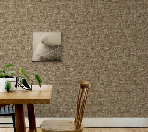 Textile Textured Plain Pattern Wallpaper (1623)