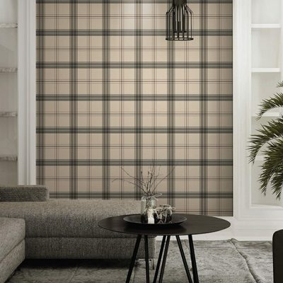 Burberry Inspired Checkered Pattern Wallpaper (3714)