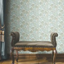 Colourful Classic Paisley Wallpaper (4711)