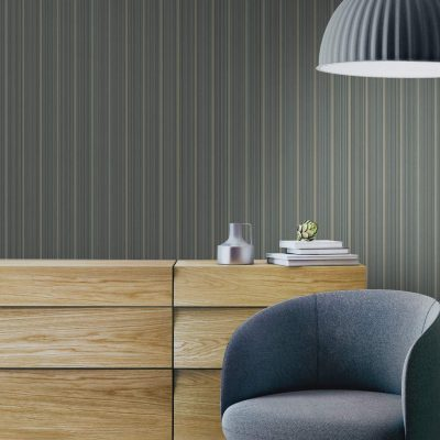 Thin Delicate Striped Wallpaper (3705)