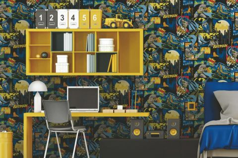 Batman Theme Kids Wallpaper (8917)