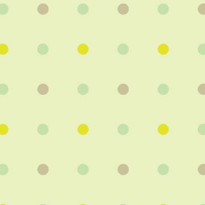 Light Kids Wallpaper with Dots - Green, Light (8940-2)