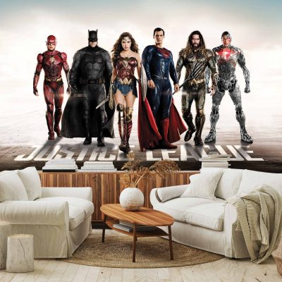 Justice League Mural Wallpaper WB2026