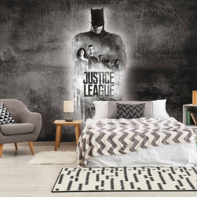 Justice League Mural Wallpaper WB2027