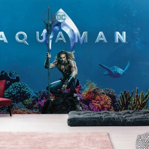 Aquaman Mural Wallpaper WB2060
