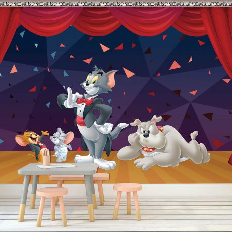 Tom and Jerry Mural Wallpaper WB2089
