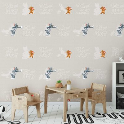 Tom and Jerry Mural Wallpaper WB2090