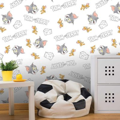 Tom and Jerry Mural Wallpaper WB2103