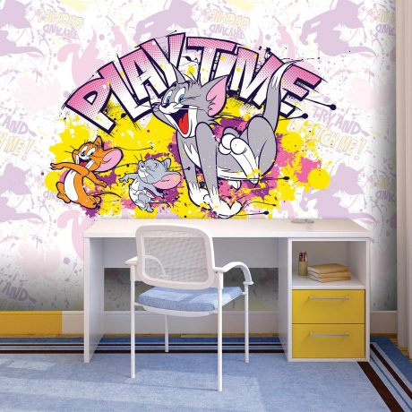 Tom and Jerry Mural Wallpaper WB2106