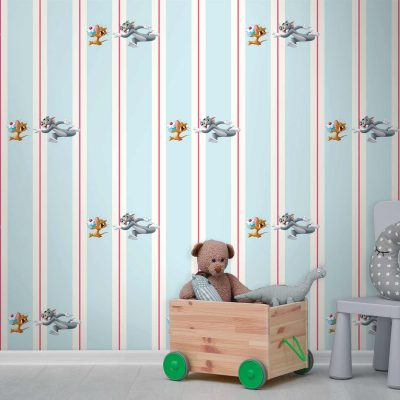 Tom and Jerry Mural Wallpaper WB2115