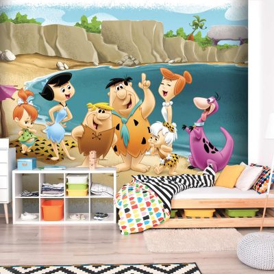 The Flintstones Mural Wallpaper WB2121