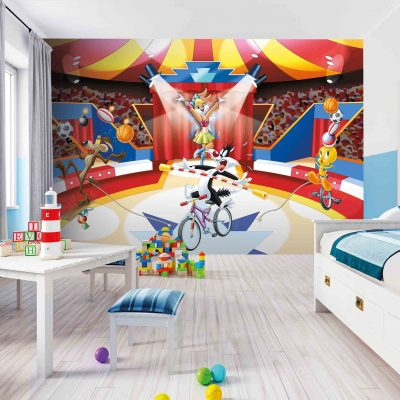 Looney Tunes Mural Wallpaper WB2156