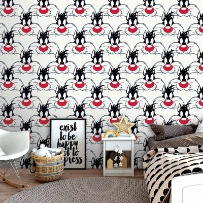 Looney Tunes Mural Wallpaper WB2166