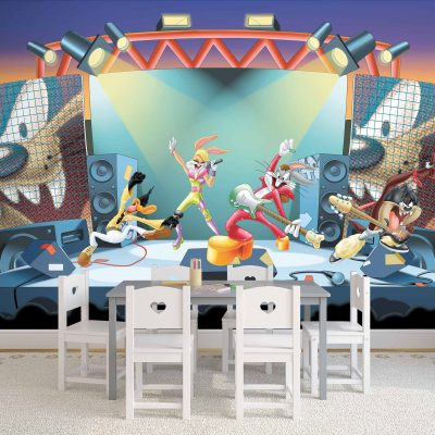 Looney Tunes Mural Wallpaper WB2167