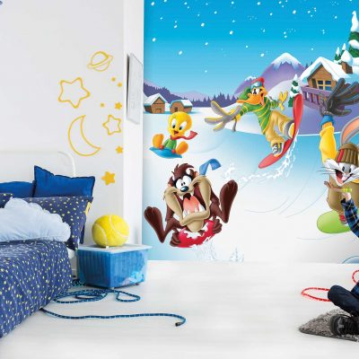 Looney Tunes Mural Wallpaper WB2168