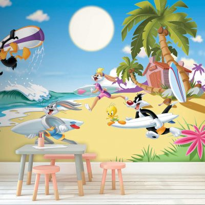 Looney Tunes Mural Wallpaper WB2169