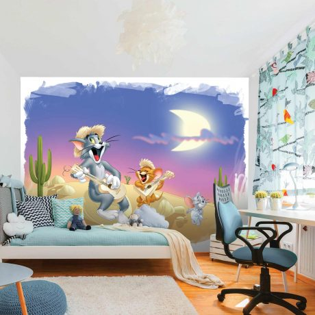 Tom and Jerry Mural Wallpaper WB2171