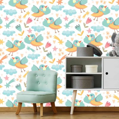 Birds Mural Wallpaper (M1037)