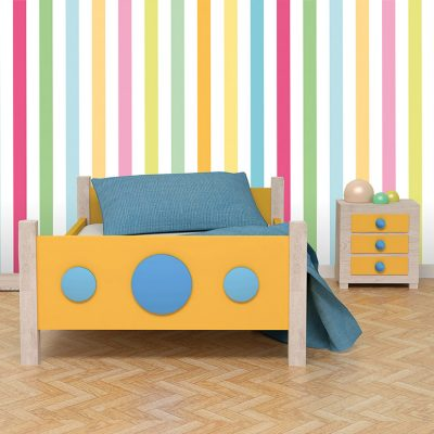 Striped Mural Wallpaper (M957)