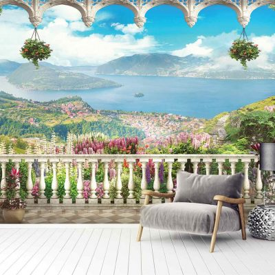 Landscape Mural Wallpaper (M848)