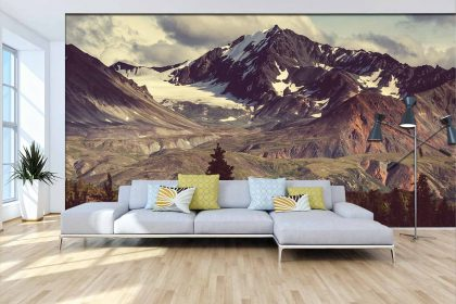 Landscape Mural Wallpaper (M867)