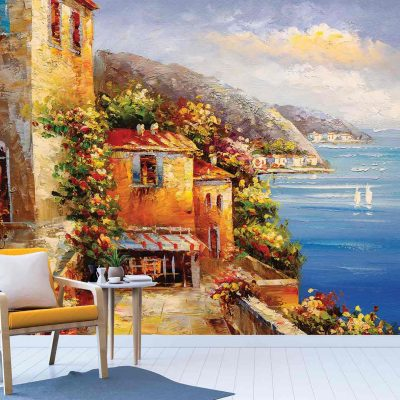 Landscape Art Mural Wallpaper (M887)