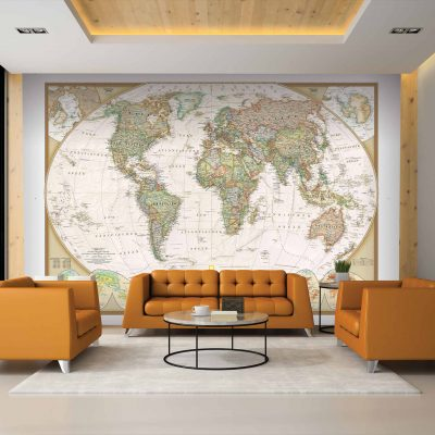Map Mural Wallpaper (M900)