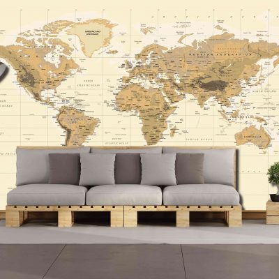 Map Mural Wallpaper (M903)