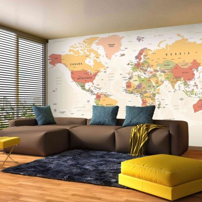 Map Mural Wallpaper (M904)