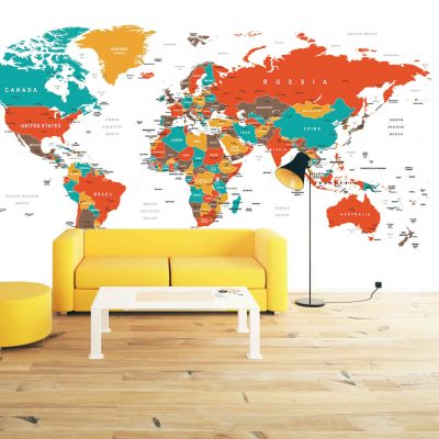 Map Mural Wallpaper (M905)